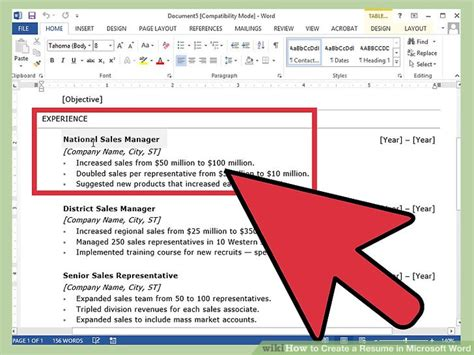 resume templates wordpad resume template making resume in word how