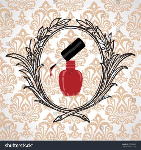 hairdresser retro design elements vector editable vector nail polish design element for nail salon