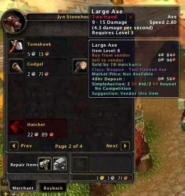 who is the vendor when buying a house vendor buy auction house vendors world of warcraft