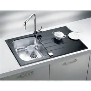 Wren Kitchen Sinks 860x500 Alveus 1 Bowl Rvs Black Glass Wren Kitchens