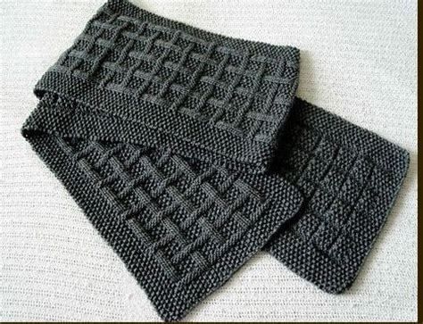 mens knit scarf pattern scarf pattern patterns gallery