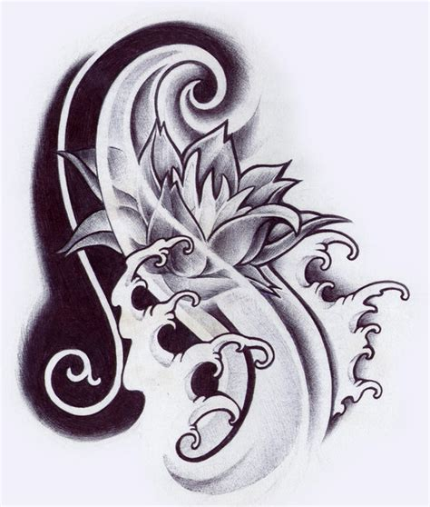 oriental flower tattoo designs flower designs tattoos book 65 000