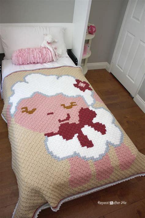 Patron Couverture Bã Bã Tricot Repeat Crafter Me Crochet Corner To Corner C2c Baby