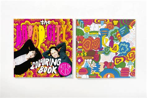 broad city coloring book activity book for comedy books the broad city colouring book by mike perry