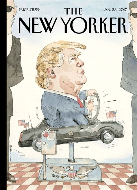 New Yorked cover story barry blitt s at the wheel the new yorker