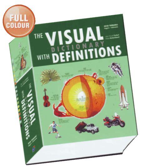 Visual Dictionary Indonesia Inggris Sc kamus visual dengan definisi dwi bahasa toko buku dunia baca
