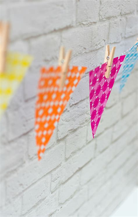 Make A Paper Banner - paper banner diy it all started with paint