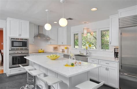 white kitchen cabinets with white countertops 20 white quartz countertops inspire your kitchen renovation