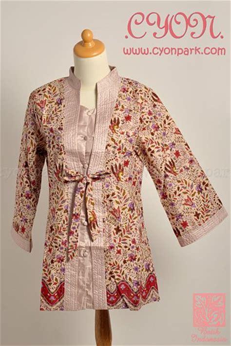 Atasan Blouse Batik Wanita Warna Hitam Model Baju Terbaru Koleksi Tahun 2015 Batikkeraton Co Id