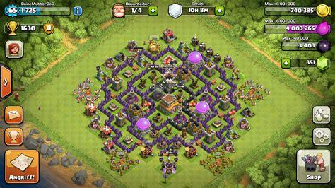 coc base 7th hd image dawnload clash of clans das beste dorf mit rathaus level 6 free