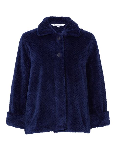 bed jacket soft waffle fleece bed jacket or dressing gown robe ladies