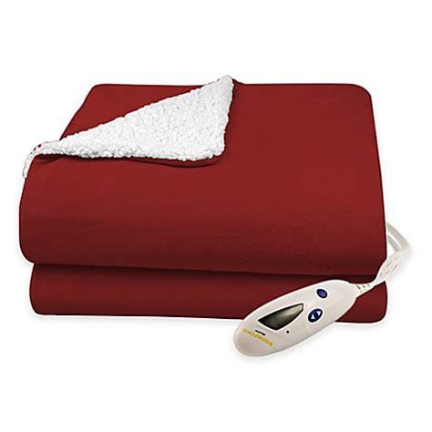 Where To Buy Heated Blankets by Buy Biddeford 174 Solid Velour Heated Blanket With Sherpa