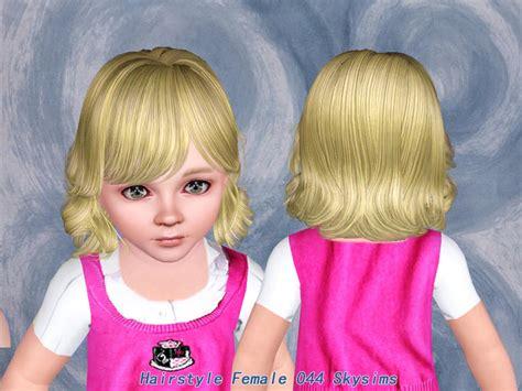 skysims hair toddler 209 i the sims 3 pinterest sims skysims hair toddler 044