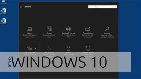 theme song for windows 10 commercial how to enable windows 10 hidden dark theme youtube