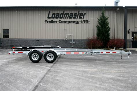 tennessee boat trailers tn loadmaster tandem axle galvanized boat trailer