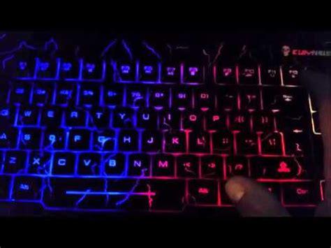 rainbow light up keyboard bluefinger rainbow keyboard