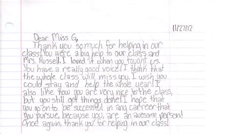 Thank You Letter To Cooperating Exle Cityside Middle School Kelsey Gustafson S Professional Portfolio