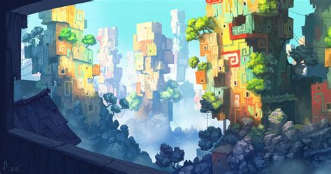 colorful city a colorful city by frayde on deviantart
