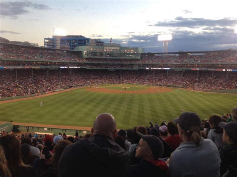 fenway park section bleacher  home  boston red sox