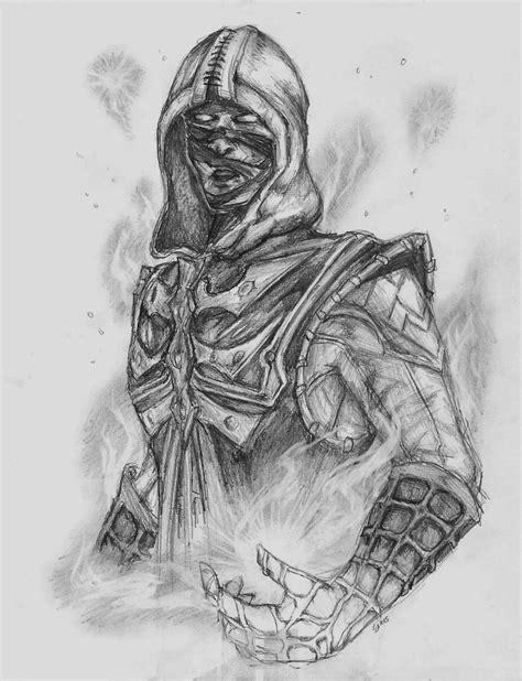 Mortal Kombat X Sketches by Ermac Error Macro Mortal Kombat X By Bowser070 On