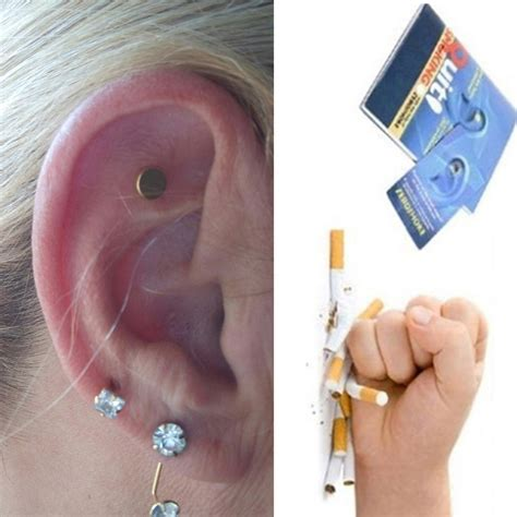 Gelang Kesehatan Magnetic Gold Bio G Garden magnet auricular quit acupressure patch no cigarettes health therapy e0 ebay