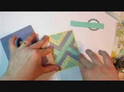 youtube carding tutorial herringbone technique faux quilt card tutorial youtube