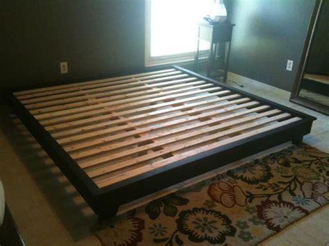 king bed platform diy  woodworking