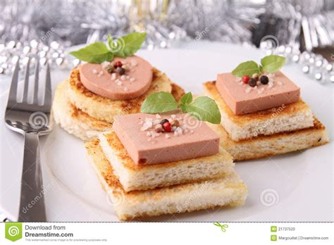 toast canapes appetizer canapes stock photo image of liver