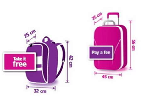 cabin baggage wizzair wizz air aviokarta net