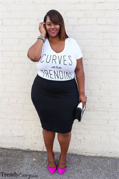whats in atyle for the plus size gurl trending topic trendy curvytrendy curvy