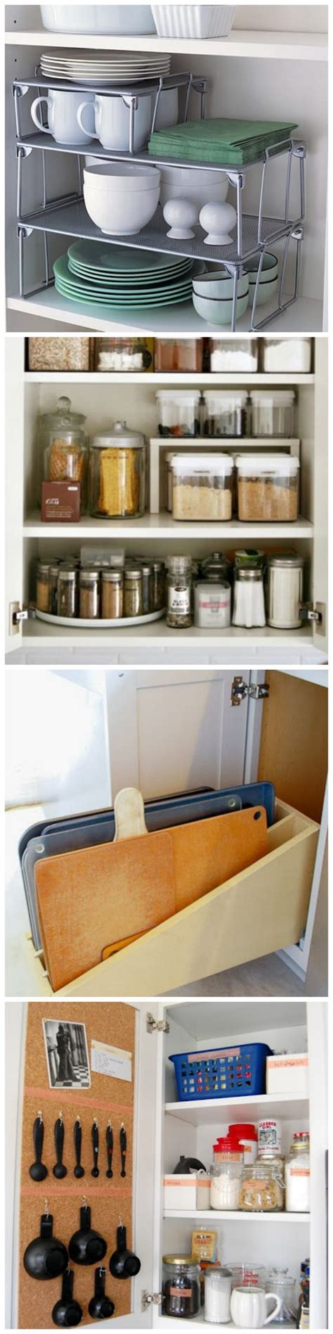 kitchen cabinet organization tips 1000 ideas about cabinet organizers on pinterest