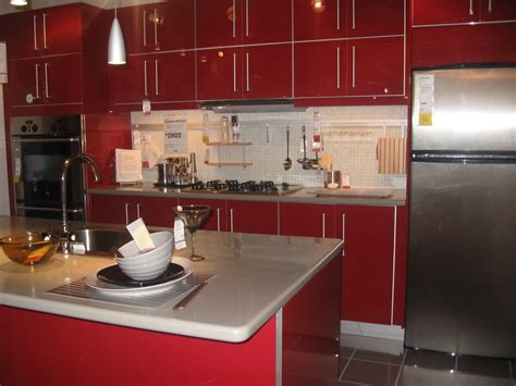 ikea red kitchen cabinets red kitchen cabinets ikea alkamedia com