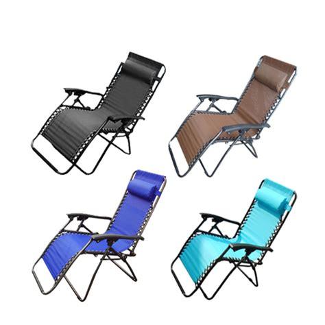 Garden Recliner Chairs by New Zero Gravity Garden Reclining Recliner Relaxer Lounger