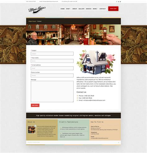lilliput housetraditional style wp theme for online shop
