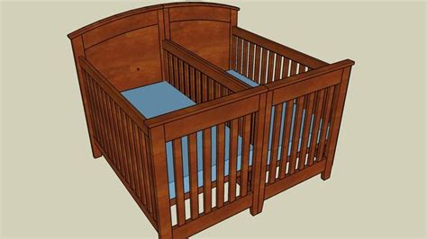 baby crib plans woodworking baby crib plans sketchup woodworking projects plans