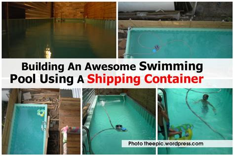Kitchen Designs Australia by Building An Awesome Swimming Pool Using A Shipping Container