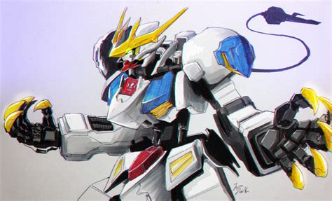 wallpaper gundam barbatos gundam barbatos lupus by jazzjack kht on deviantart