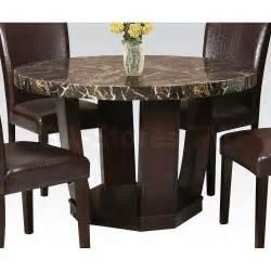 Modern Round Pedestal Dining Table » Home Design 2017