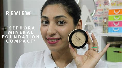 Sephora Mineral Foundation Compact review sephora mineral foundation compact for