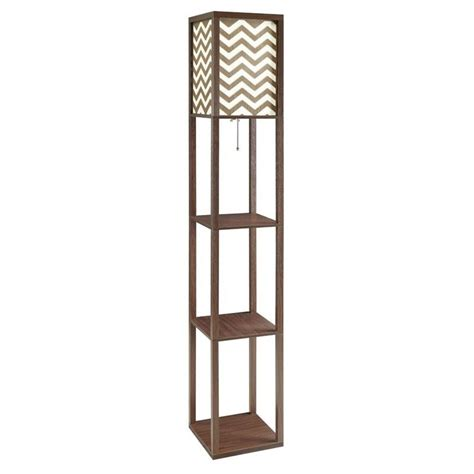 coaster 3 shelf floor l in cappuccino 901569