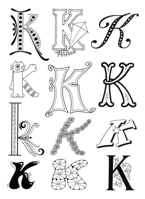 printable decorative fonts 230 best images about drawing doodling on pinterest