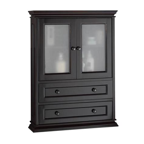 foremost bathroom wall cabinets foremost berkshire espresso bathroom wall cabinet wall