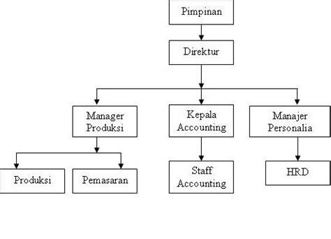 cara membuat struktur organisasi usaha nurmoothe