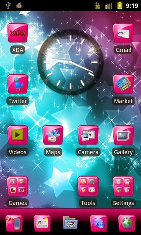 themes tablet pc beautiful go launcher ex theme for android tablet pc