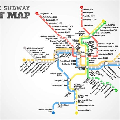 washington dc rent map 17 best images about dc on illustration styles