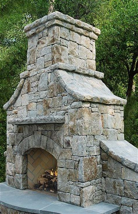 Outdoor Fieldstone Fireplace by 14 Best Images About Pits And Fireplaces On
