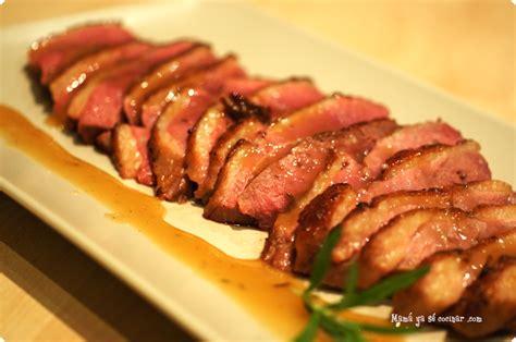 recetas de cocina de pato recetas de cocina de violeta marmesan magret de pato con