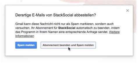 Abo Abbestellen by Tipp Newsletter Abos Bei Gmail Ganz Einfach Abbestellen