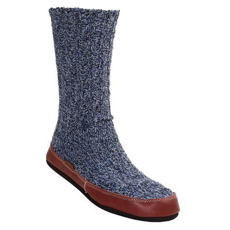 acorn mens slipper socks acorn stepout slipper socks for and 2385y