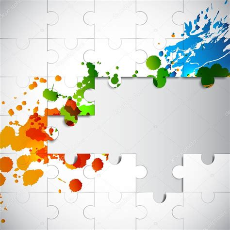 layout puzzle vector puzzle background stock vector 169 ecrow 21139877